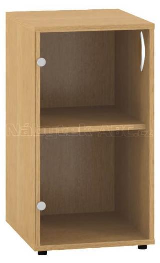 Kancelářská skříň OfficePlus 400x458x735, dveře levé
