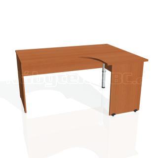 Kancelářský rohový stůl GATE, GE 2005 L, 160x75,5x120cm