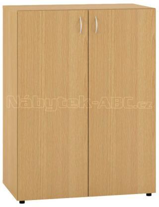 Kancelářská skříň OfficePlus 800x470x1063 se dveřmi